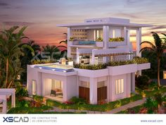 Project News - The Villas at Turquoise Banks  The Villas at Turquoise Banks, Turks and Caicos Islands, comprises six resort style villas.  XS CAD created 3D photorealistic rendered images using Autodesk 3DS Max and Adobe Photoshop, based on the Revit model and material specification provided by the client. The rendered images were used for marketing and sales purposes.   #XSCAD #BIM #Revit #CAD #AutoCAD #MEP #Photoshop #Marketing #Sales #Design #2D #3D #photorealistic #Autodesk #Turquoise
