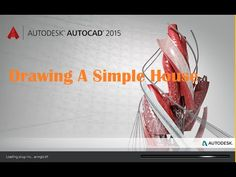 Drawing Simple House By Using Autocad Program ( Lesson 1 )