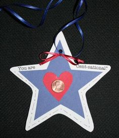 """You're Cent-sational!"" Star Necklace Craft"