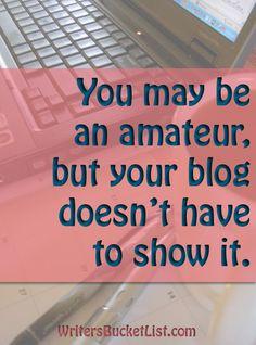 3 Things to Do Before Starting a Blog - WritersBucketList.com