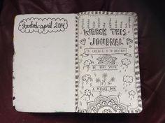 Wreck This Journal Tittle Page by xxblackengelxx.deviantart.com on @deviantART