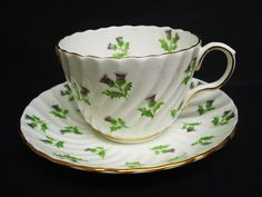 Beautiful Vintage Cup and Saucer  Aynsley   England   by lasadana, $34.99