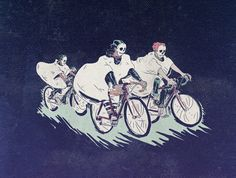 """Ghost Race"" Art Print by Iheartjlp.com on Society6."