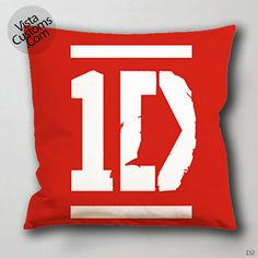 1Direction logo Pillow Case, Chusion Cover ( 1 or 2 Side Print With Size 16, 18, 20, 26, 30, 36 inch )