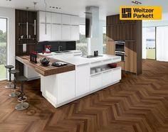 Plank, Pose Parquet, Decoration, Kitchen Island, Flooring, Design, Inspiration, Home Decor, Strong