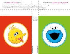 banner-squares-bigbird-cookie-sesame-street-printablepartyshop
