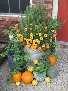 Herfst Decoratie. Fall Decoration.