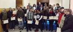 Entregados los diplomas de la primera edición de cursos de alfabetización informática de IPETA Y Cáritas - 45600mgzn