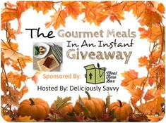 Gourmet Meals In An Instant Giveaway with Meal Time Box! 2 Winners! ($100 TRV) Deliciously Savvy is Hosting Another Yummy Giveaway From Meal Time Box! 2 Winners Will Receive a $50 Gift Card to Order Delicious Hand Prepared Meals Delivered To Your Door Step! The Food Is Delicious and you Can Read My Review Here. …