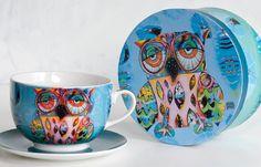Michelle Allen designs owl cup