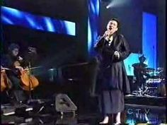 K.D. Lang sings Hallelujah....I've never seen/heard this most beautiful of songs, sung with more passion than K.D's. rendition.