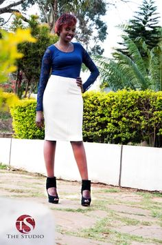 I in love with pencil skirts...witnstyle.com