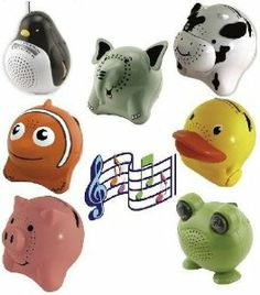 ADORABLE KIDS ANIMAL AM/FM RADIO - DUCK by ANIMAL RADIOS. $12.99. Wildlife that brings music to your ears. Our unique aimal AM/FM radio (DUCK) are sure to bring the love for music into your kids lives. Each uniquely shaped, designed and painted are adorable replicas of the animals we see at the zoo, on the farm, in tv shows, movies, cartoons and in books. Kids will love them!  Each features: AM/FM radio, large speaker with crisp clear sound, large volume control knob and ...