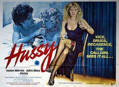 Hussy UK Sexploitation Adult Quad Poster with Helen Mirren. Available for purchase from our collection. Patti Boulaye, London Nightclubs, Woman In Gold, Dame Helen, Helen Mirren, Vintage Movies, Night Club, Beauty Women, Pin Up