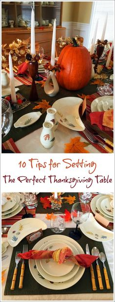 Get 10 Tips for Setting the Perfect Thanksgiving Table at This Mama Cooks! On a Diet #ad #NabiscoPartyPlanner, #BringHomeTheHolidays