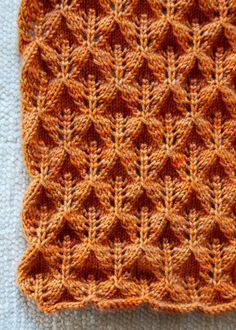 FREE pattern – Lovely Leaf Lace Scarf | REPINNED