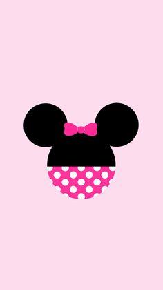 Immagine di minnie and wallpaper wallpaper в 2019 г. Wallpaper Do Mickey Mouse, Cute Wallpaper For Phone, Wallpaper Iphone Disney, Cute Wallpaper Backgrounds, Phone Backgrounds, Mickey E Minnie Mouse, Disney Mickey Mouse, Cute Wallpapers Quotes, Tsumtsum