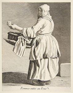 Cooked Apple Seller Anne Claude Philippe de Tubières, Comte de Caylus  (French, Paris 1692–1765 Paris)