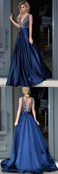 v-neck chiffon prom dress high slit evening dress satin beading prom gowns sweep train cocktail dress,HS053