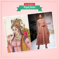 History of #Anarkali dress... The 16th century Mughal empress, the wife of Emperor Jahangir, who is also believed to be the same Anarkali, with whom Salim aka Jahangir was madly in love, is the inspiration behind this apparel. While the patterns and designs of this ethnic wear have evolved with time, the basic elements still allures dating back to the Nur Jehan days, the first Mughal emperor to ever rule the nation behind the throne. (Image copyrights belong to their respective owners)