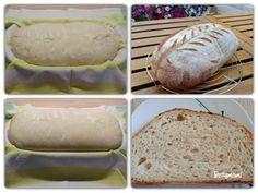 Egyszerű kovászos kenyér – Alaprecept – Betty hobbi konyhája Bread, Food, Brot, Essen, Baking, Meals, Breads, Buns, Yemek