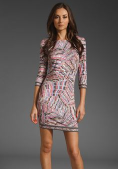 Trina Turk Indio Scallop dress