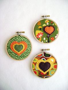 Embroidery Hoop Wall Art - Bubbles of Love