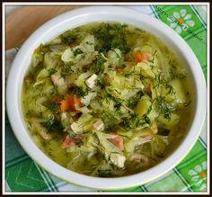 Moje Walijskie Pichcenie ... : KAPUŚNIAK Z MŁODEJ KAPUSTY Easy Cabbage Rolls, Cabbage Rolls Recipe, Easy Stuffed Cabbage, Soup Recipes, Vegan Recipes, Good Food, Yummy Food, Polish Recipes, Polish Food