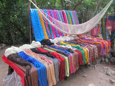 Mexico - Yucatan Peninsula - Near Valladolid - Chichen Itza - Hammocks