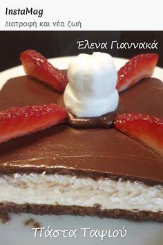 Διατροφή και νέα ζωή ( Δίαιτα των 3 φάσεων ): ΠΑΣΤΑ ΤΑΨΙΟΥ ΧΩΡΙΣ ΑΛΕΥΡΑ Sugar Free, Cheesecake, Sweets, Healthy, Desserts, Recipes, Food, Tailgate Desserts, Deserts