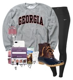 """""""I leave for vacation tomorrow☀️"""" by sophiavarrrr ❤ liked on Polyvore featuring NIKE, Oxford, Victoria's Secret, Betsey Johnson, ColourPop and Sperry"""