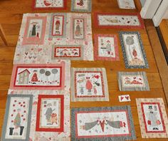 Quilten & Brocante Hatch Patch, Annie Downs, Angel Stories, Basket Quilt, Fabric Pictures, Hand Applique, Fabric Panels, Quilts, Blanket