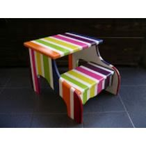 Banco Banquito Escalera Infantil Para Niños Stool, Mini, Furniture, Home Decor, Table And Chairs, Mesas, Stools, Stairs, Benches