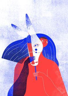 Card illustration for Concorto Film Festival 2017