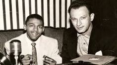 "Little Walter and Leonard Chess promoting ""Juke"""
