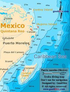 porto morales mexico | puerto morelos map mexico