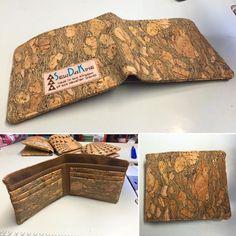 Kane Wallet PDF Pattern - Handmade Cork Fabric Bags