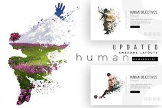 HUMAN PowerPoint Template + Updates by Brenners Template on @creativemarket
