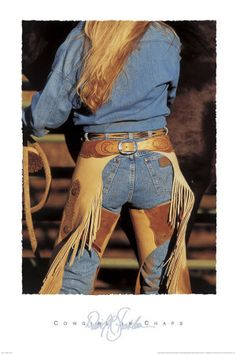 <3 Cowgirl chaps