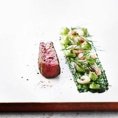 Simplicity helps a dish shine. #plating #perfection #profile #presentation #professional #art #award #elegant #executivechef #luxury #foodies #chefs #chefsroll #creative #crafty: