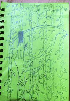 Vulnerability. sketches by Joyce Monteiro Tupaz