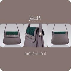 Jack #macrilia #bags #madeinitaly