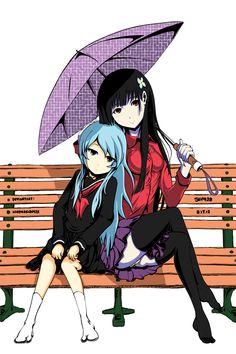 Sankarea: Warm and Cool by KazenoKizu928.deviantart.com on @deviantART