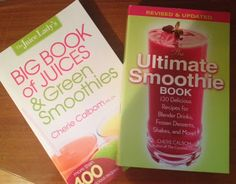 Day 3: 12 Days of Christmas Giveaways - Win 2 Books from The Juice Lady's Cherie Calbom!