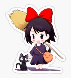 Kiki stickers featuring millions of original designs created by independent artists. Anime Stickers, Cute Stickers, Cartoon Pics, Cartoon Characters, Graffiti Wall Art, Anime Watch, Cute Stationary, Ghibli Movies, Aesthetic Stickers