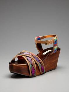Dabney Wedge Sandal by Cynthia Vincent