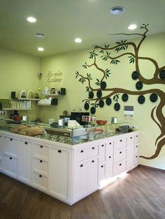 Vegan Ice cream shop. Design by Marchi !