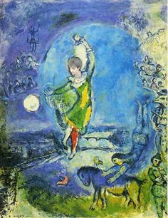 Suzanne by Marc Chagall
