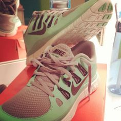Mint & grey nikes!