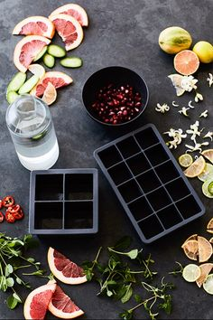 Dress up your summer drinks with ice cubes filled with fruit and herbs. We used our Perfect Cube Tray and King Cube Tray. Summer Drink Recipes, Summer Drinks, Cocktail Recipes, Cocktails, Flavored Ice Cubes, Fruit Ice Cubes, Flower Ice Cubes, Ice Cube Trays, Jb Instagram